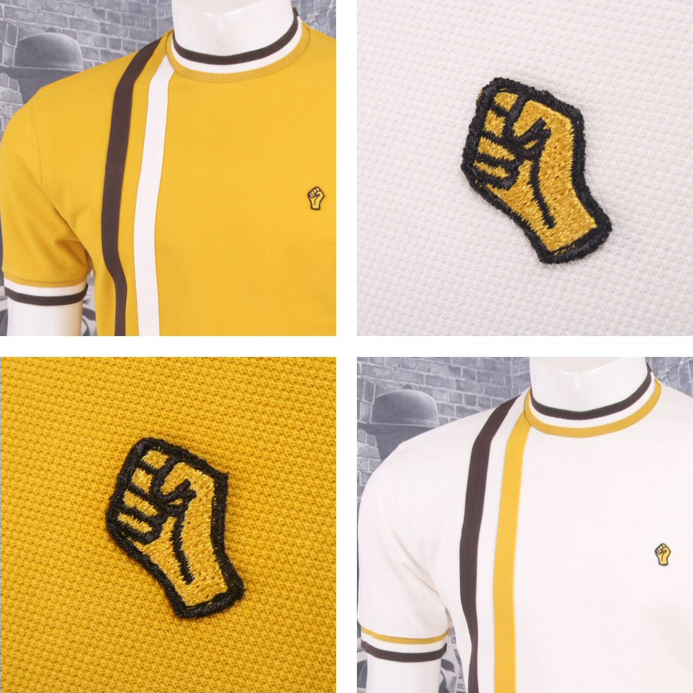 f0f881cd SPECIAL OFFER Wigan Casino Northern Soul Racing Stripe Ringer Turtle Neck  T-Shir Thumbnail 1 ...
