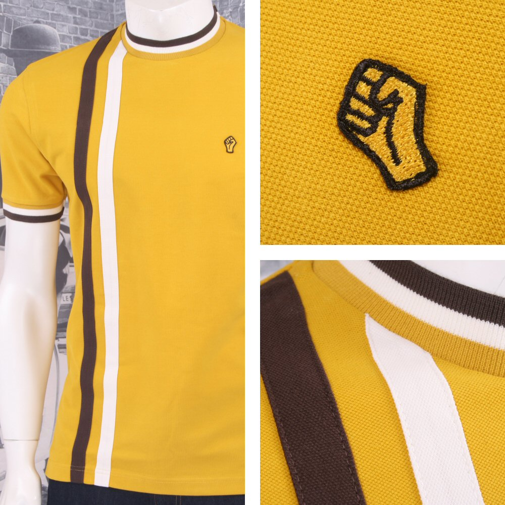 1346b508 SPECIAL OFFER Wigan Casino Northern Soul Racing Stripe Ringer Turtle Neck  T-Shir