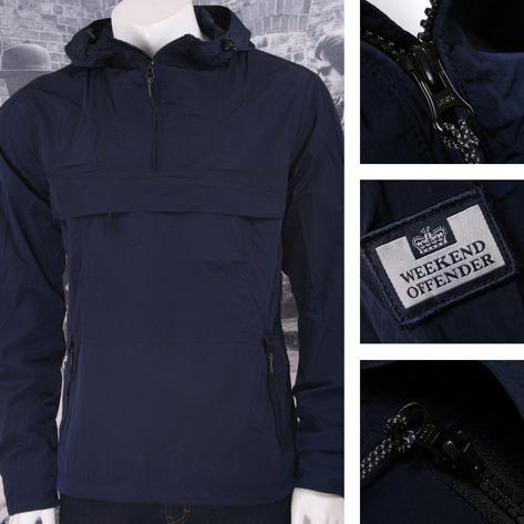 Weekend Offender Retro Casual Terrace Lightweight Zip Cagoule Windbreaker Thumbnail 2