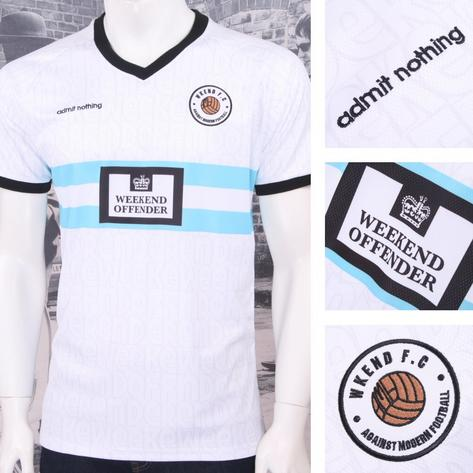 Weekend Offender Retro Casual Terrace Eighties Nineties Football Club Tee Thumbnail 3