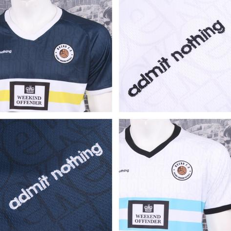 Weekend Offender Retro Casual Terrace Eighties Nineties Football Club Tee Thumbnail 1