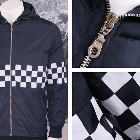 Get Up Two Tone Ska Rudeboy Checkerboard James Jacket Windbreaker Thumbnail 4
