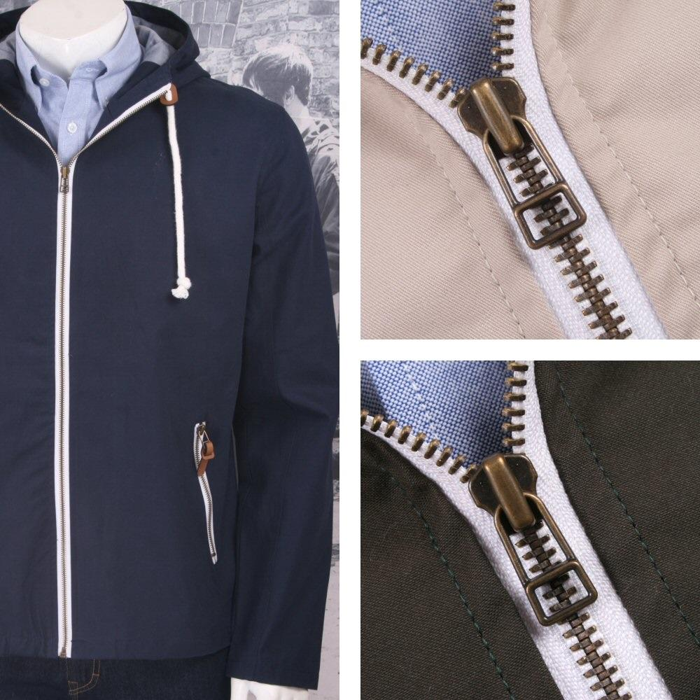 Hoxton London Mod Oasis Liam Hooded Festiva Anorak Jacket