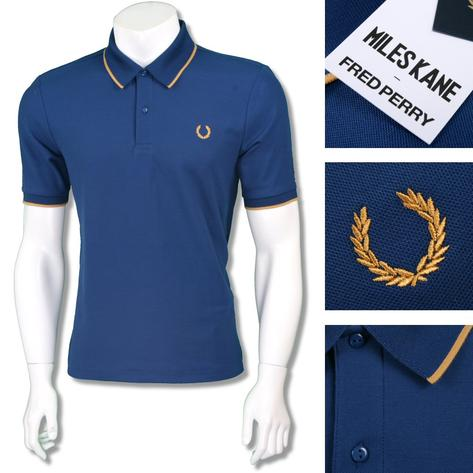 Fred Perry Ltd Edition Miles Kane Fine Pique Polo Shirt Thumbnail 2