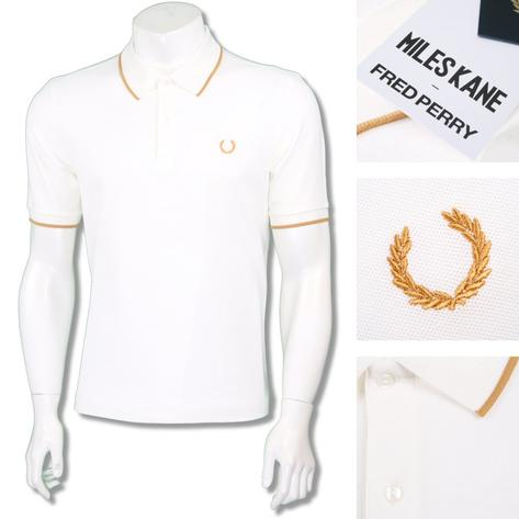 Fred Perry Ltd Edition Miles Kane Fine Pique Polo Shirt Thumbnail 3