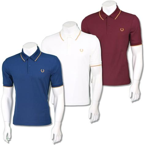Fred Perry Ltd Edition Miles Kane Fine Pique Polo Shirt Thumbnail 1
