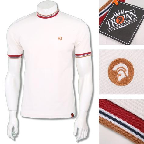 Trojan Records Mens Retro Multi Tipped Ringer T-Shirt Thumbnail 3