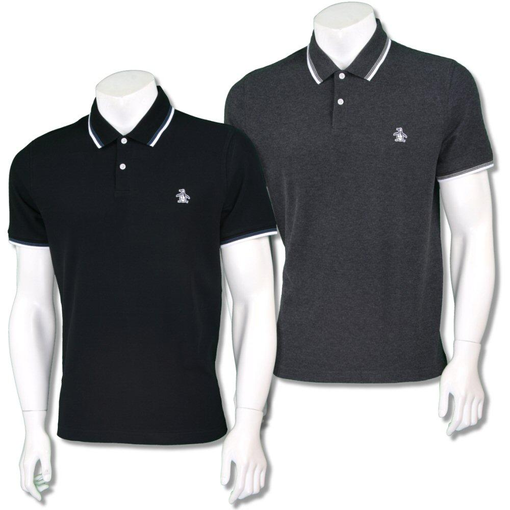 Penguin Original Mens Retro Raised Badge Polo Shirt