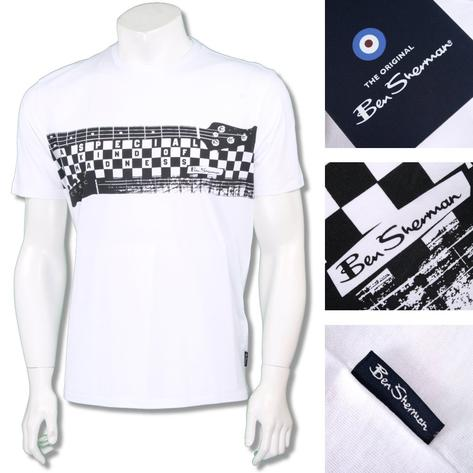 Ben Sherman Ska Retro Crew Neck Madness Specials T-Shirt Thumbnail 2