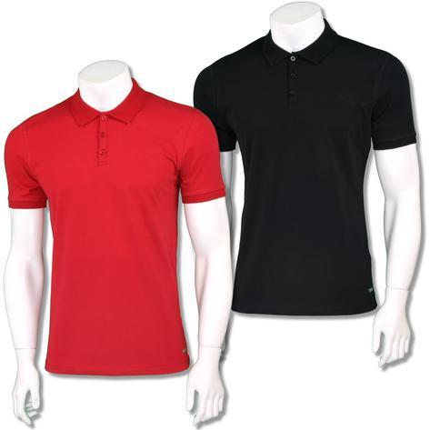 Sseinse Mens Italian Plain Cotton Polo Shirt