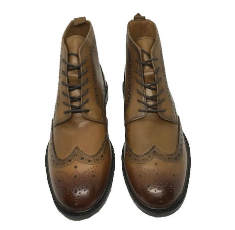 Delicious Junction Brogue Leather Boot Garrison Chestnut Thumbnail 2
