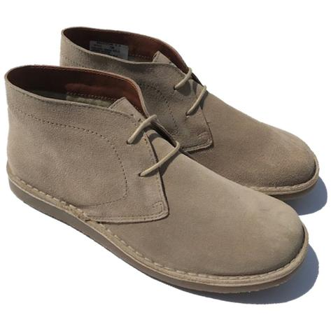 Delicious Junction Suede Desert Boot Crowley Beige Thumbnail 1