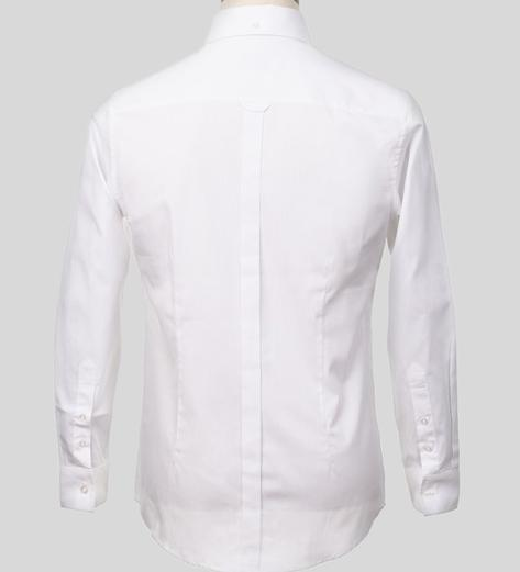 Art Gallery Mens Long Sleeve Cotton Oxford Shirt Thumbnail 4