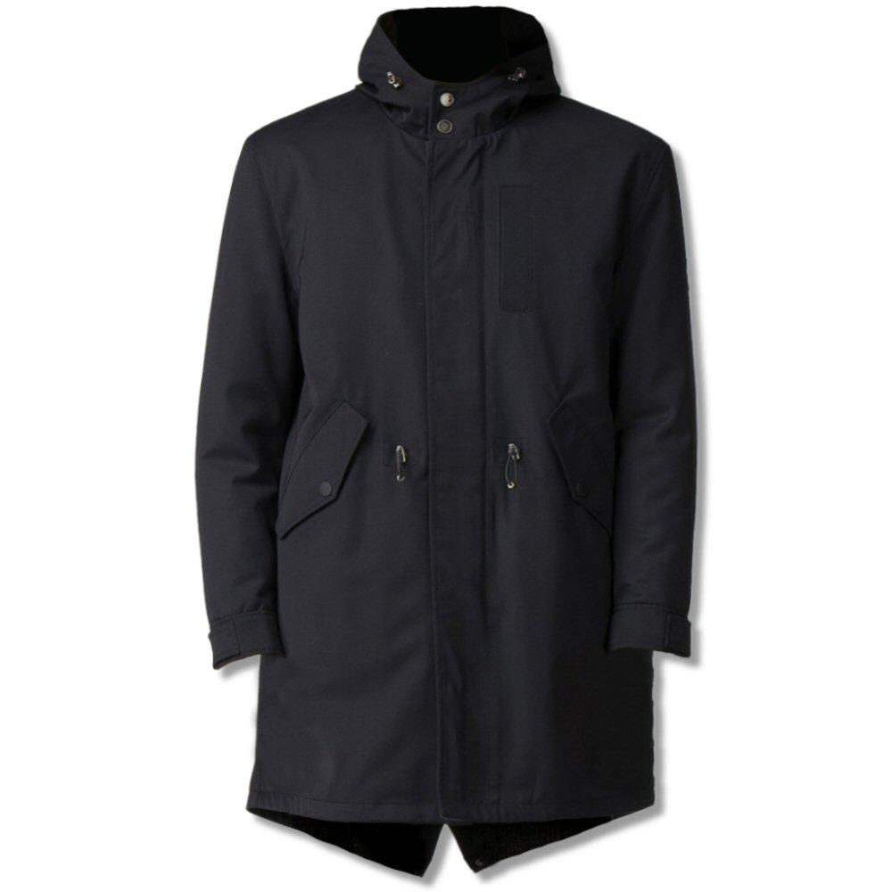 Ben Sherman Fishtail Parka Navy Blue