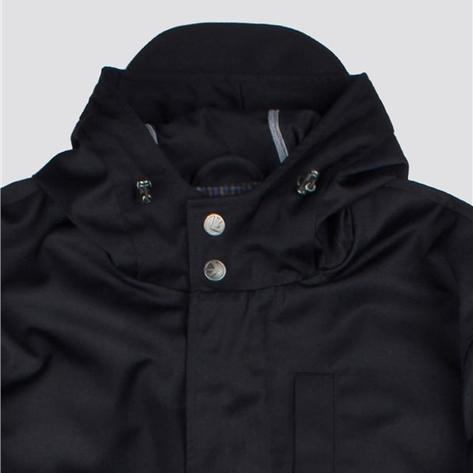 Ben Sherman Fishtail Parka Navy Blue Thumbnail 2