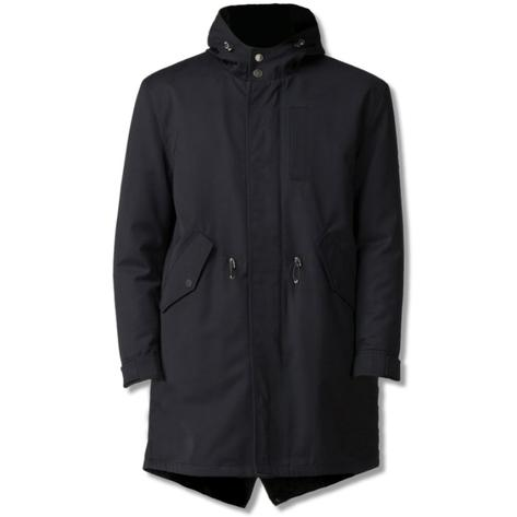 Ben Sherman Fishtail Parka Navy Blue Thumbnail 1