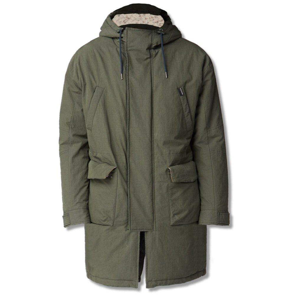 Ben Sherman Fishtail Parka Khaki