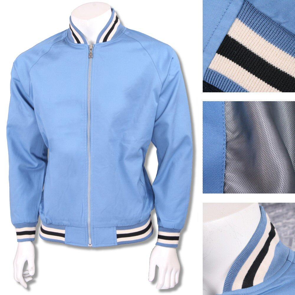 Real Hoxton London Mens Retro Tipped Monkey Jacket Airforce Blue