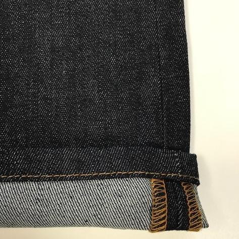 Trojan Records Zip Fly Blue / Black Denim Jeans Thumbnail 4