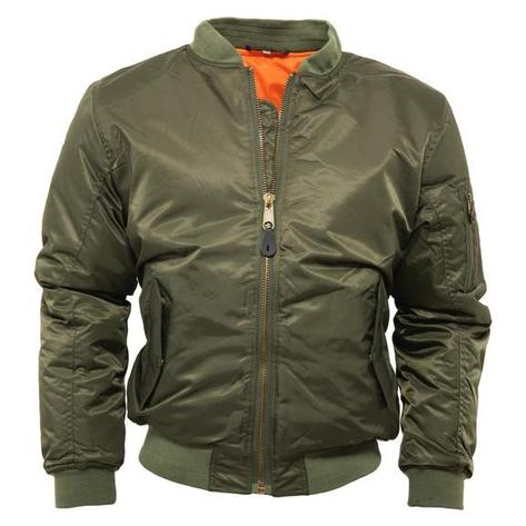 Relco MA-1 Flight Jacket Olive