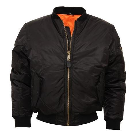 Relco MA-1 Flight Jacket Black Thumbnail 1