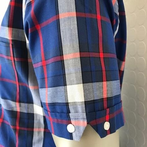 Trojan Records Short Sleeve Blue Check Shirt FREE Hanky Thumbnail 4