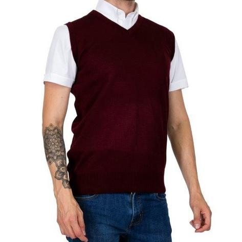 Relco Tank Top Burgundy Thumbnail 2
