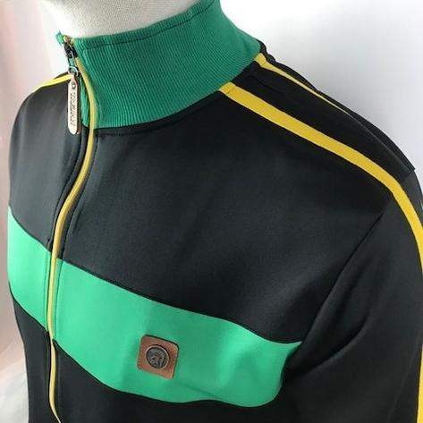 Trojan Records Contrast Panel Tricot Track Top Jamaica Thumbnail 2