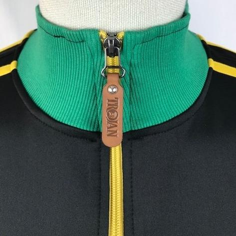 Trojan Records Contrast Panel Tricot Track Top Jamaica Thumbnail 3