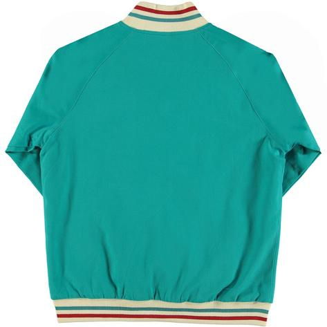 Real Hoxton London Mens Retro Tipped Monkey Jacket Sea Green Thumbnail 2