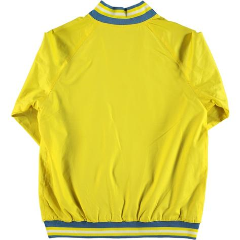 Real Hoxton London Mens Retro Tipped Monkey Jacket Bright Yellow Thumbnail 3