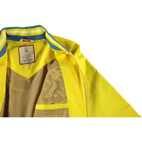 Real Hoxton London Mens Retro Tipped Monkey Jacket Bright Yellow Thumbnail 2