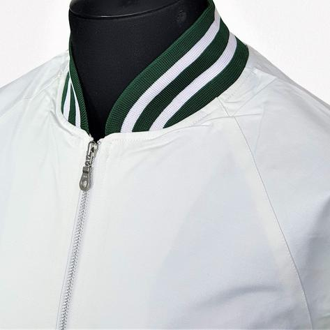 Real Hoxton London Green Tipped Monkey Jacket White Thumbnail 1