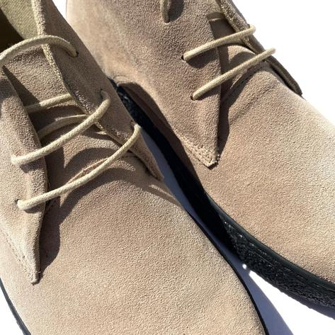 Delicious Junction Suede Playboy Bullitt Boot Beige Thumbnail 2