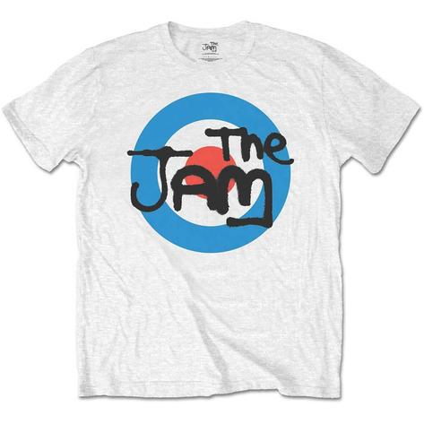The Jam Target Spray Logo T Shirt White Thumbnail 1