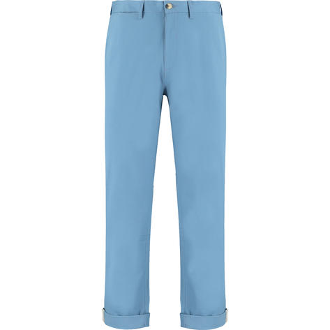 Ben Sherman Cotton Stretch Slim Fit Trousers Marine Blue Thumbnail 2