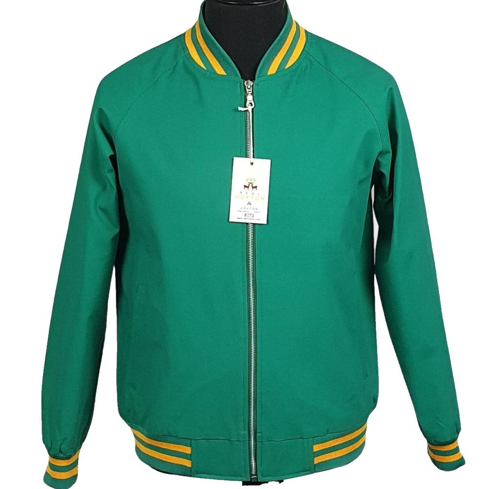 Real Hoxton London Monkey Jacket Green And Yellow