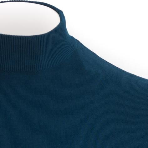 Art Gallery Terence Plain Turtle Neck Mid Blue Thumbnail 2