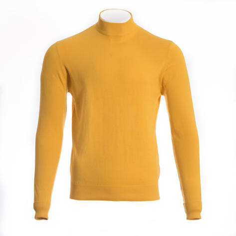 Art Gallery Terence Plain Turtle Neck Mustard Thumbnail 1