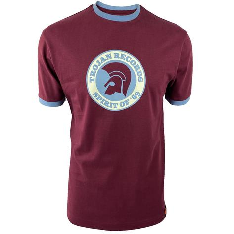 Trojan Records Spirit Of '69 Ringer T-Shirt Port