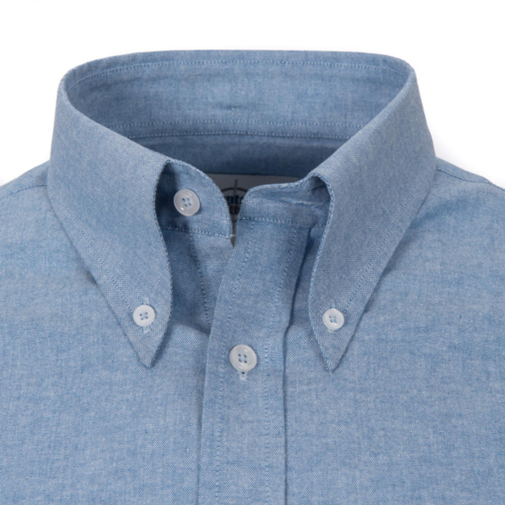 Adaptor Clothing Style Mikkel L/S Button Down Oxford Shirt Dark Blue