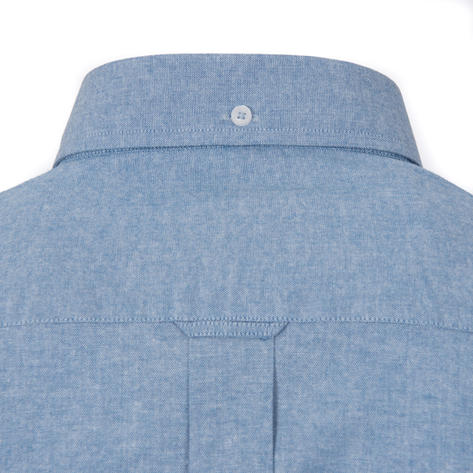 Adaptor Clothing Style Mikkel L/S Button Down Oxford Shirt Dark Blue Thumbnail 3