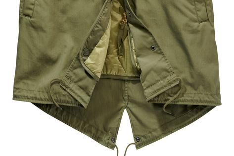 Repro US Army M-51 Fishtail Parka Olive Thumbnail 3