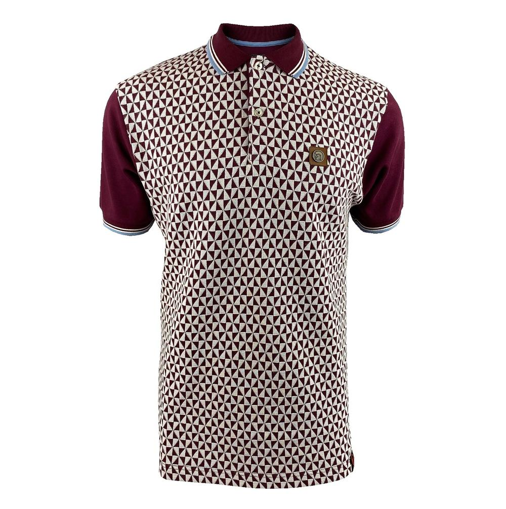 Trojan Records Diamond Panel Polo Port