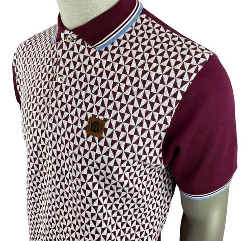Trojan Records Diamond Panel Polo Port Thumbnail 2