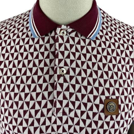 Trojan Records Diamond Panel Polo Port Thumbnail 3