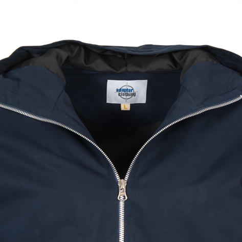 Adaptor Clothing Checkerboard James Jacket Navy Blue Thumbnail 2