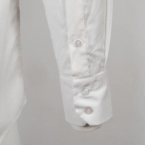 Adaptor Clothing Style L/S Button Down Oxford Shirt White Thumbnail 4