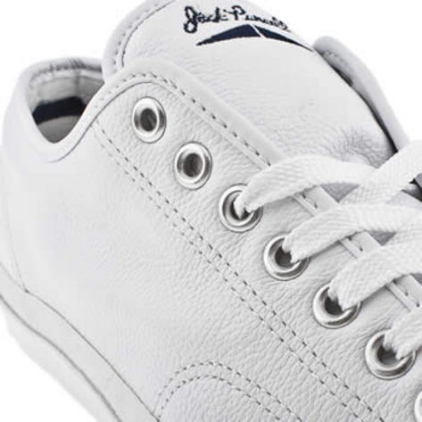 bcfe9f79a640d6 Converse Jack Purcell Leather Ox Low Classic Trainer Shoe