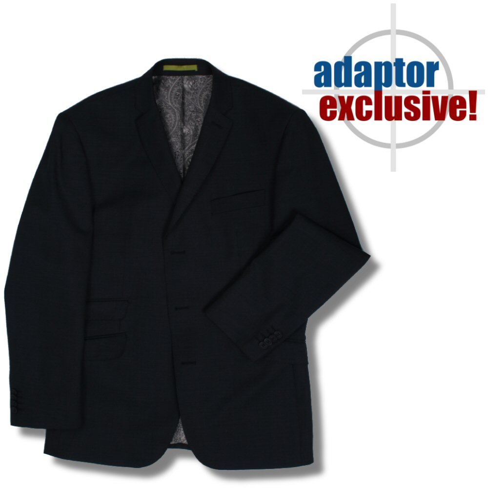 Retro K Che adaptor clothing mod 60 39 s retro 3 button charcoal navy blazer suit jacket 38 che adaptor clothing